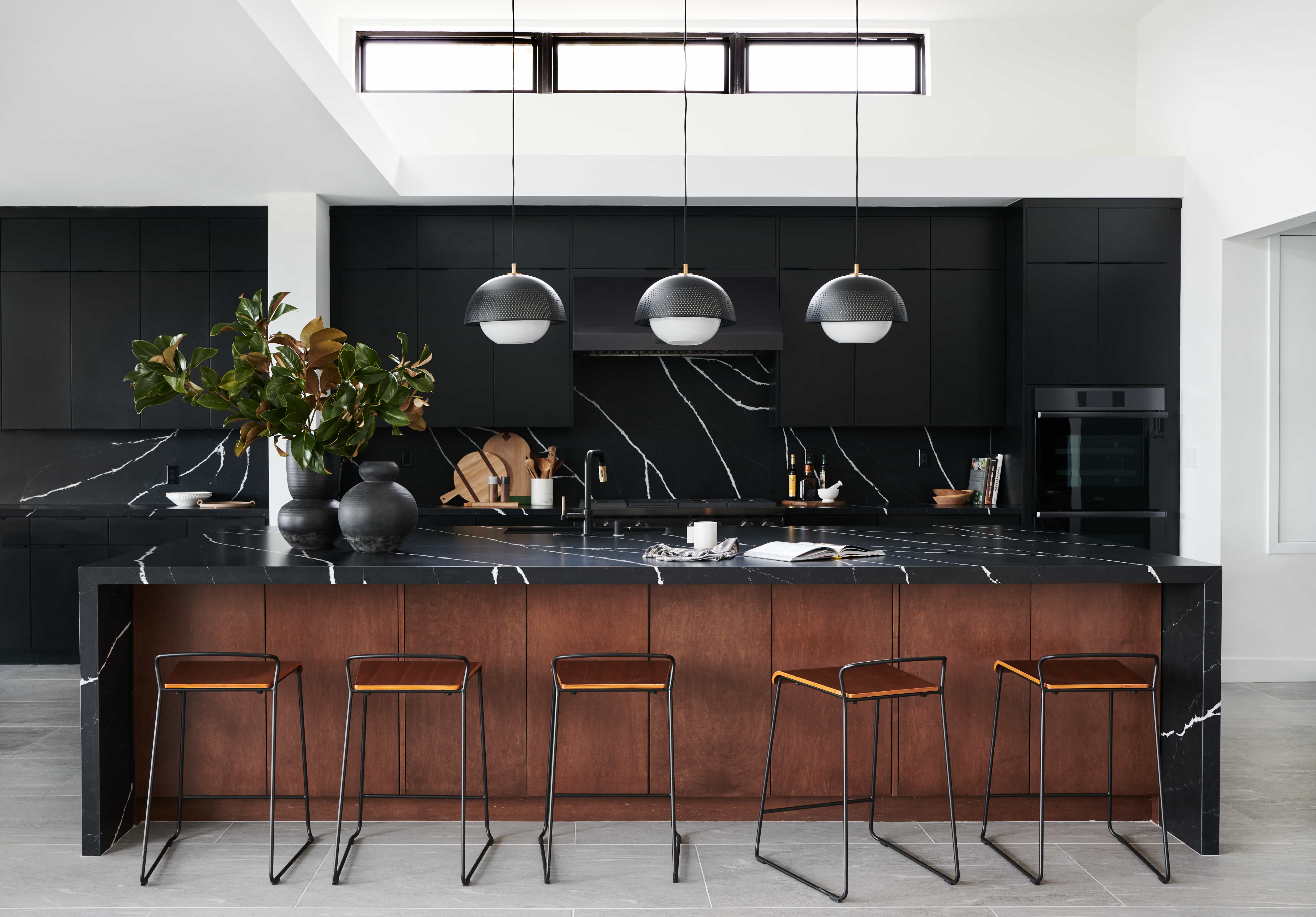 Bold And Black A Kitchen Reveal Bobby Berk
