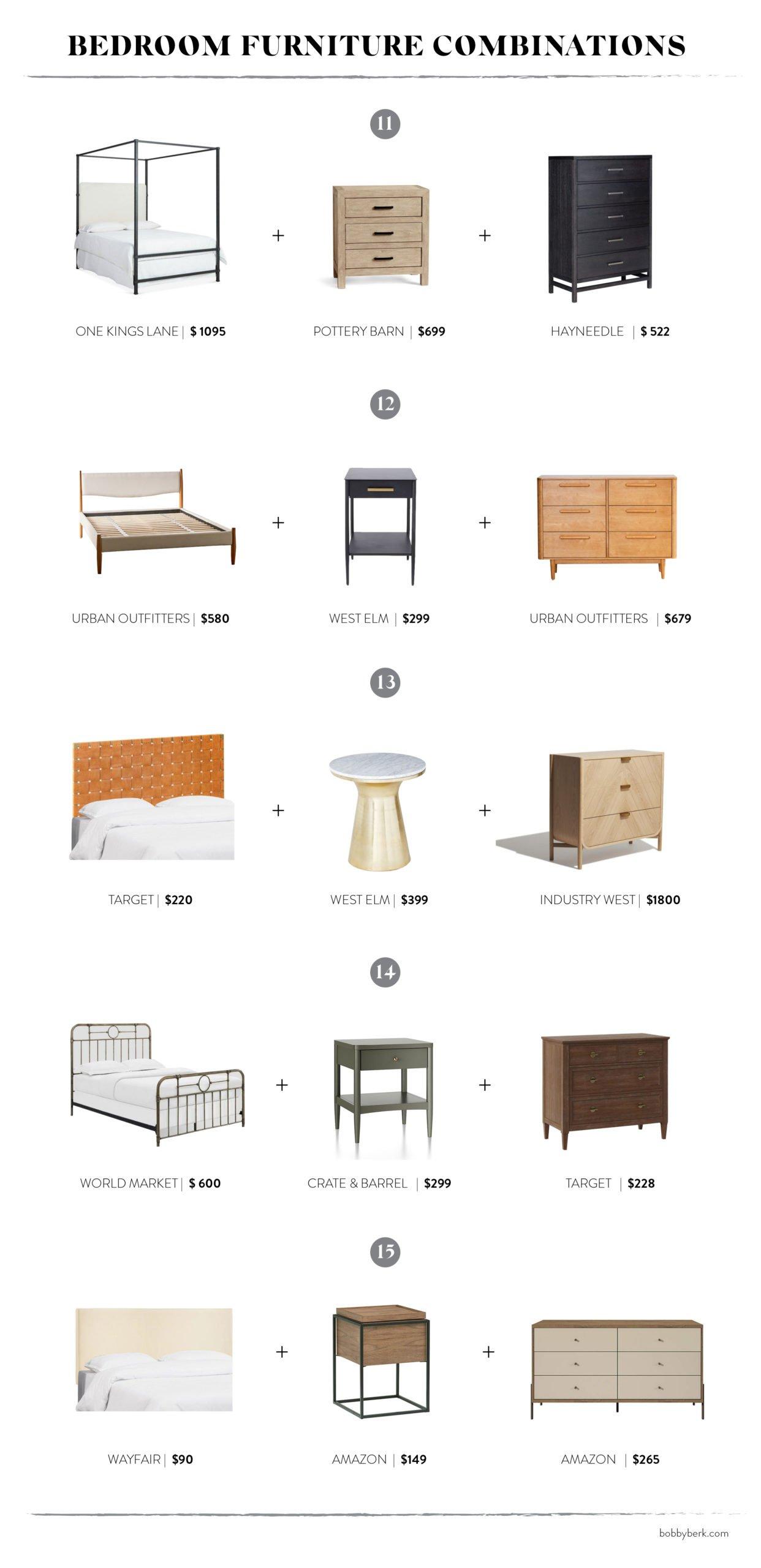 Mixing It Up: 15 Bedroom Furniture Pairings That Work - Bobby Berk
