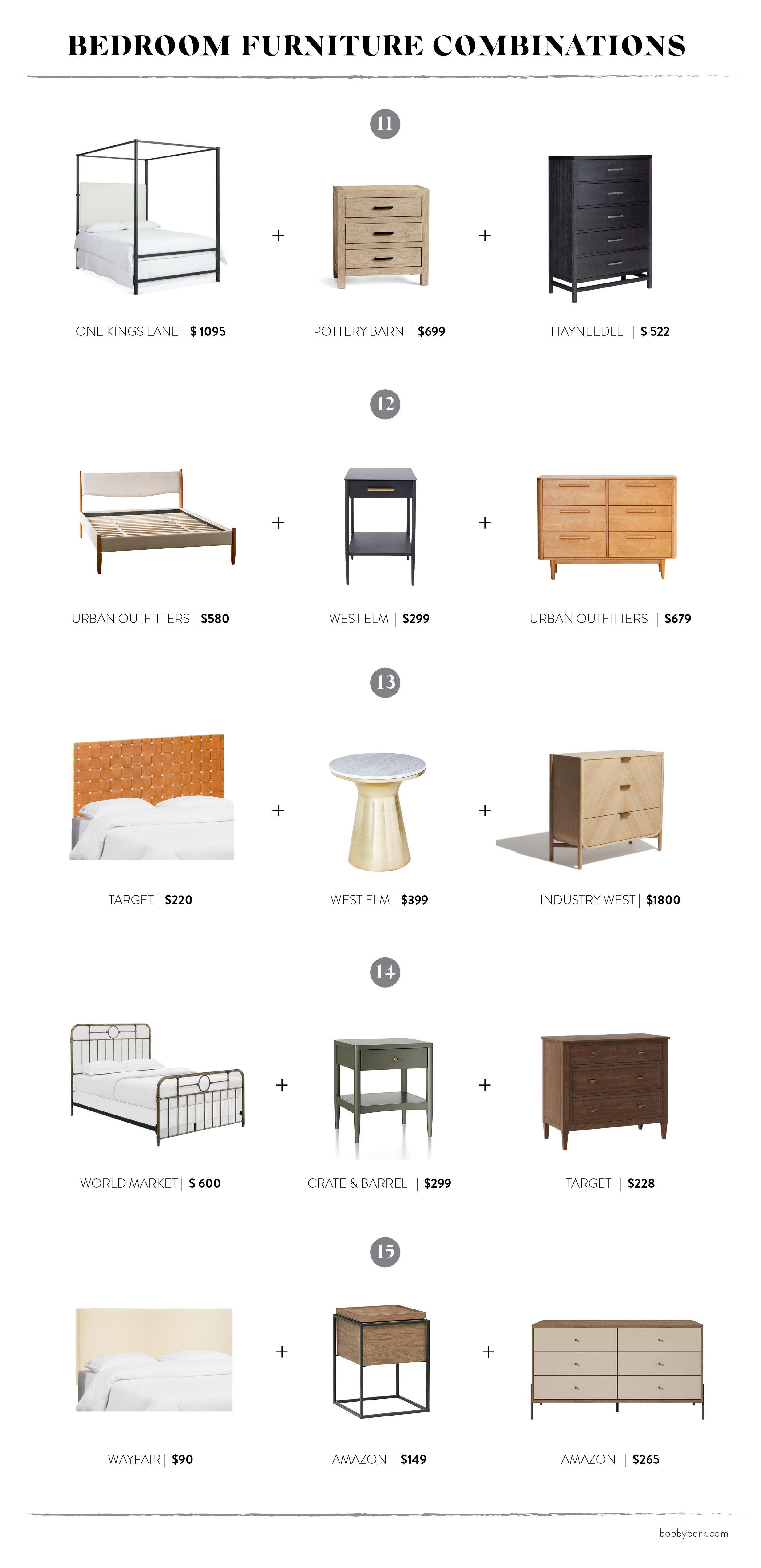 Mixing It Up: 3 Bedroom Furniture Pairings That Work - Bobby Berk