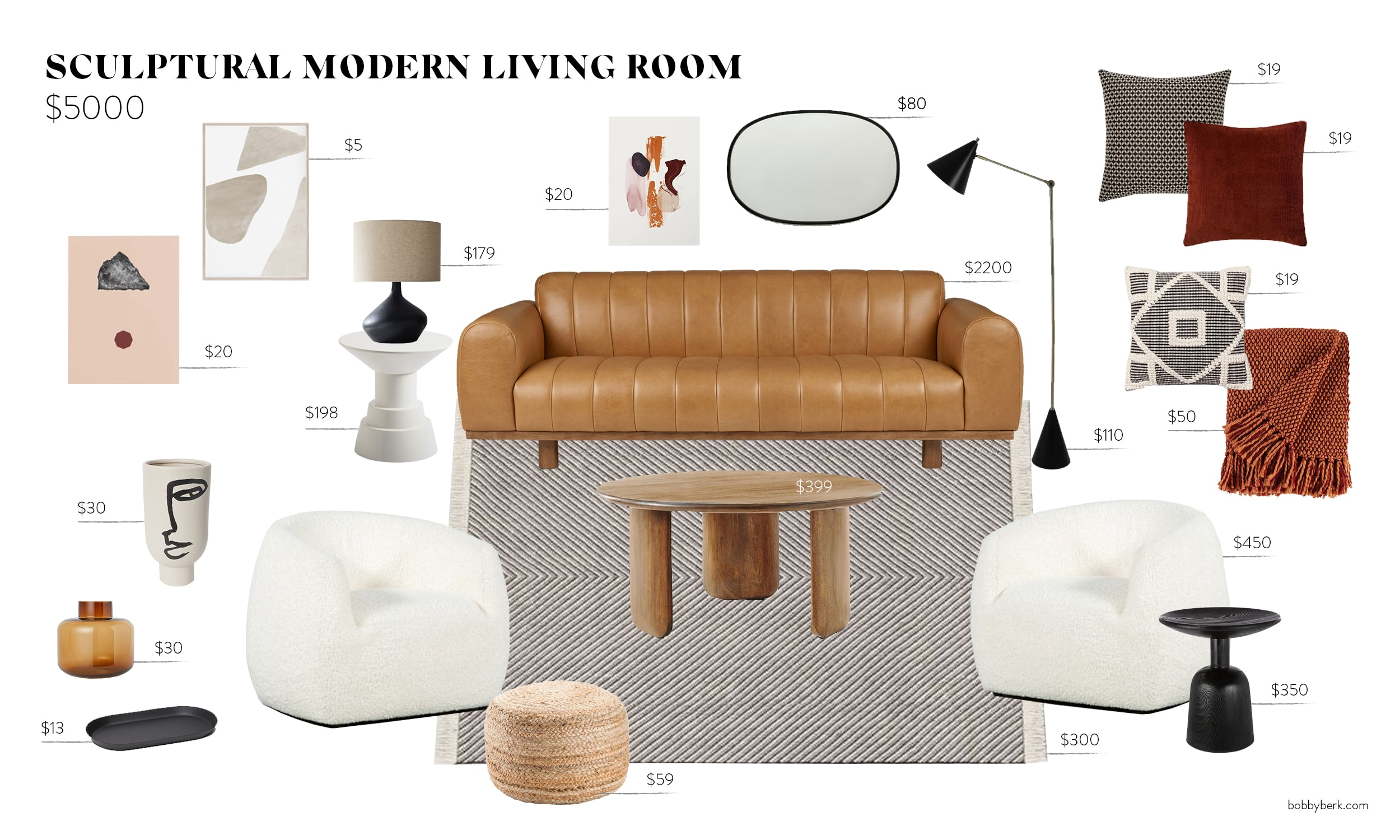 Marvelous Bobby On A Budget Sculptural Modern Living Rooms And How Pabps2019 Chair Design Images Pabps2019Com