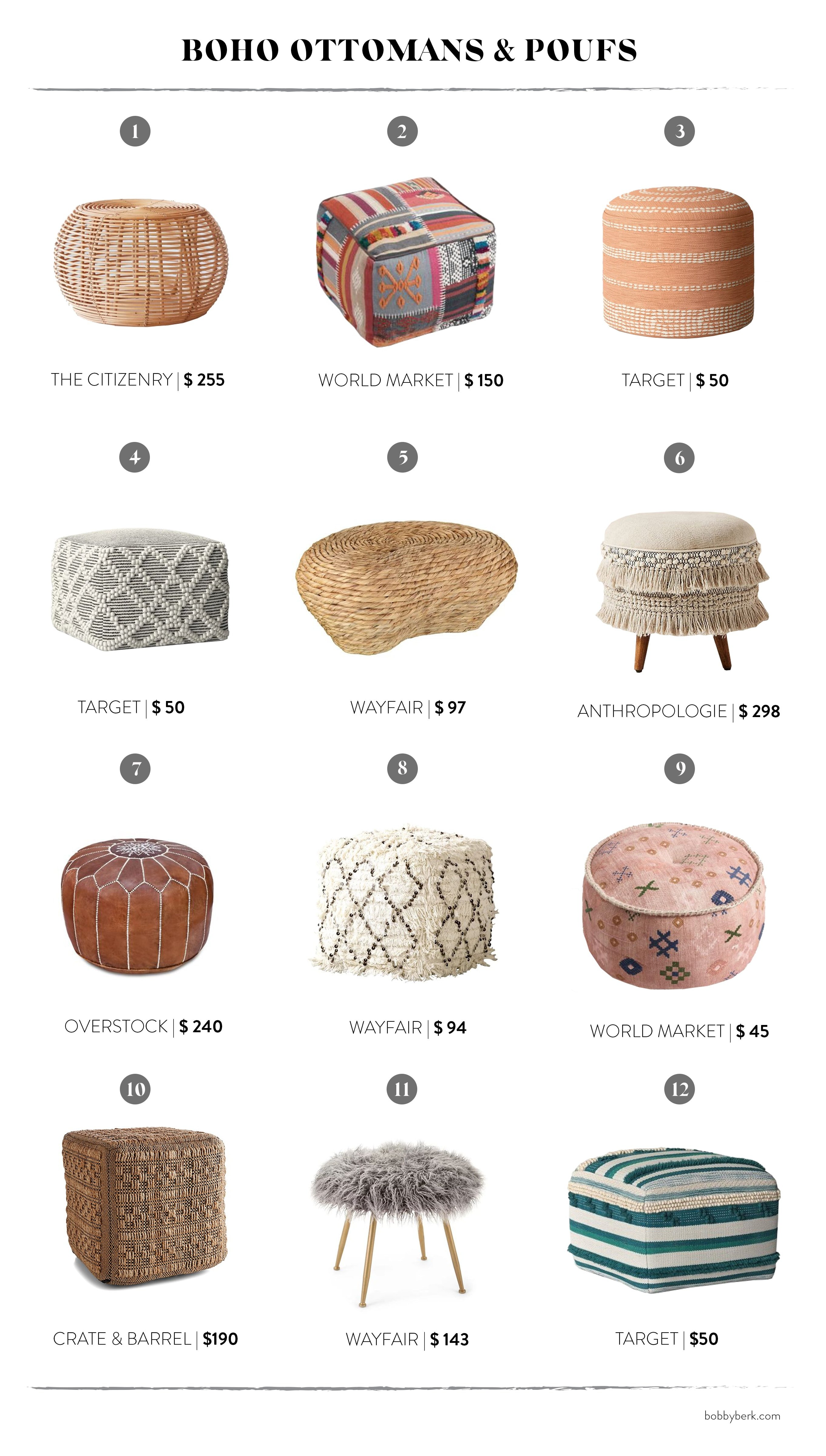 Boho Furniture 48 Of Our Favorites And Everything You