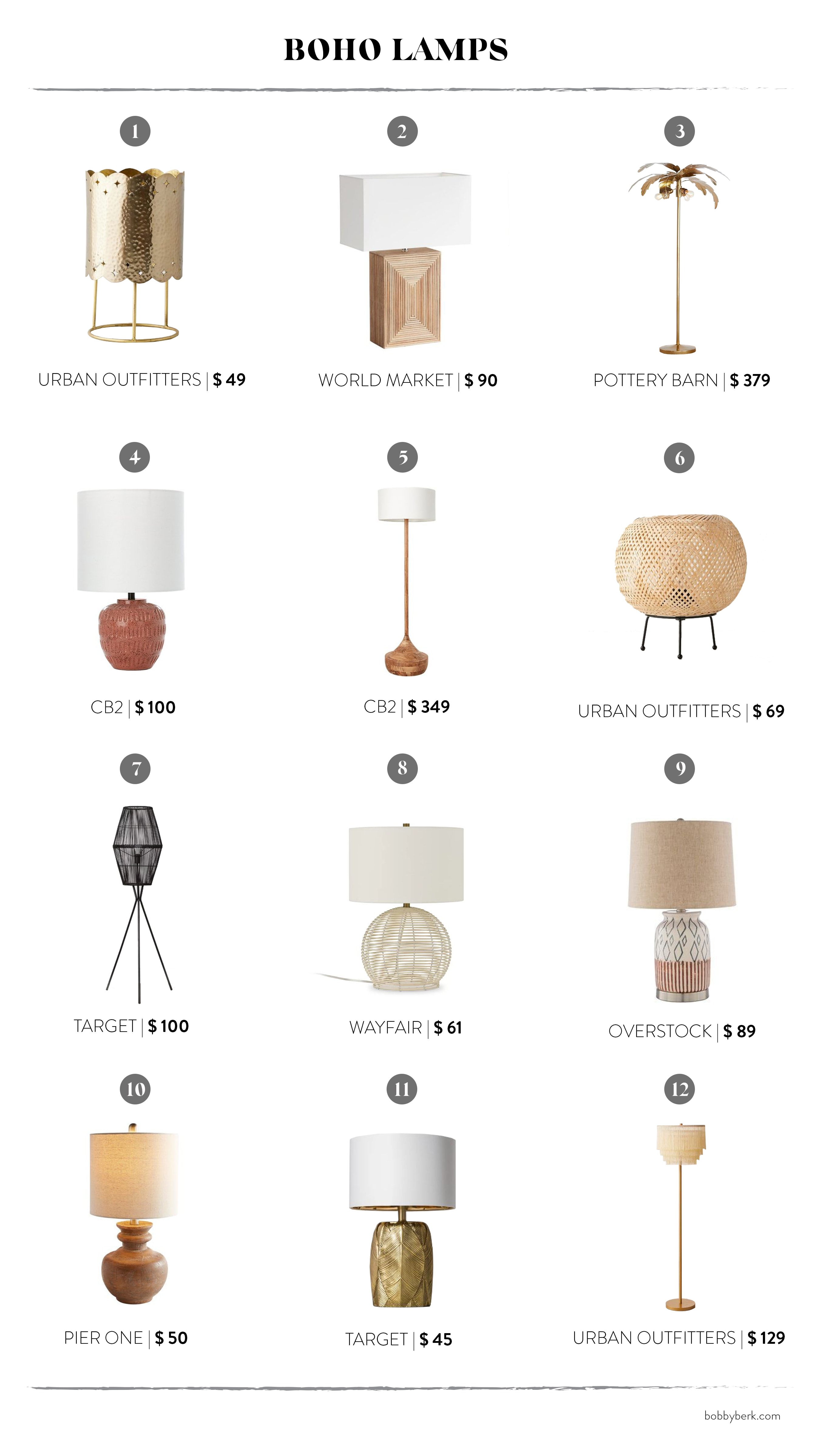 Boho Lighting 36 Of Our Favorites And Everything You Need To Get The Look Bobby Berk