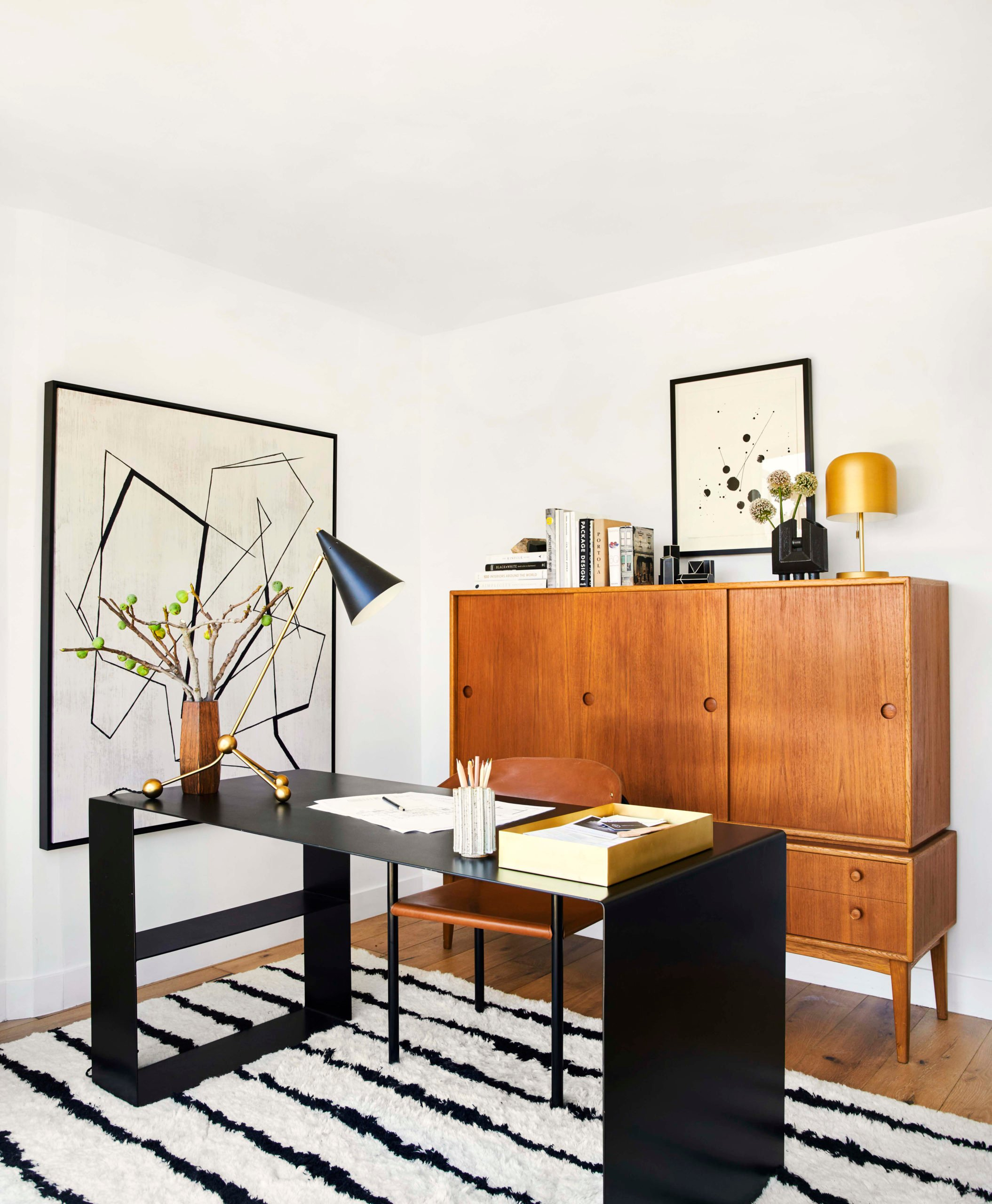 Bobby S Home Office How It Came Together And How You Can Get The Look Bobby Berk
