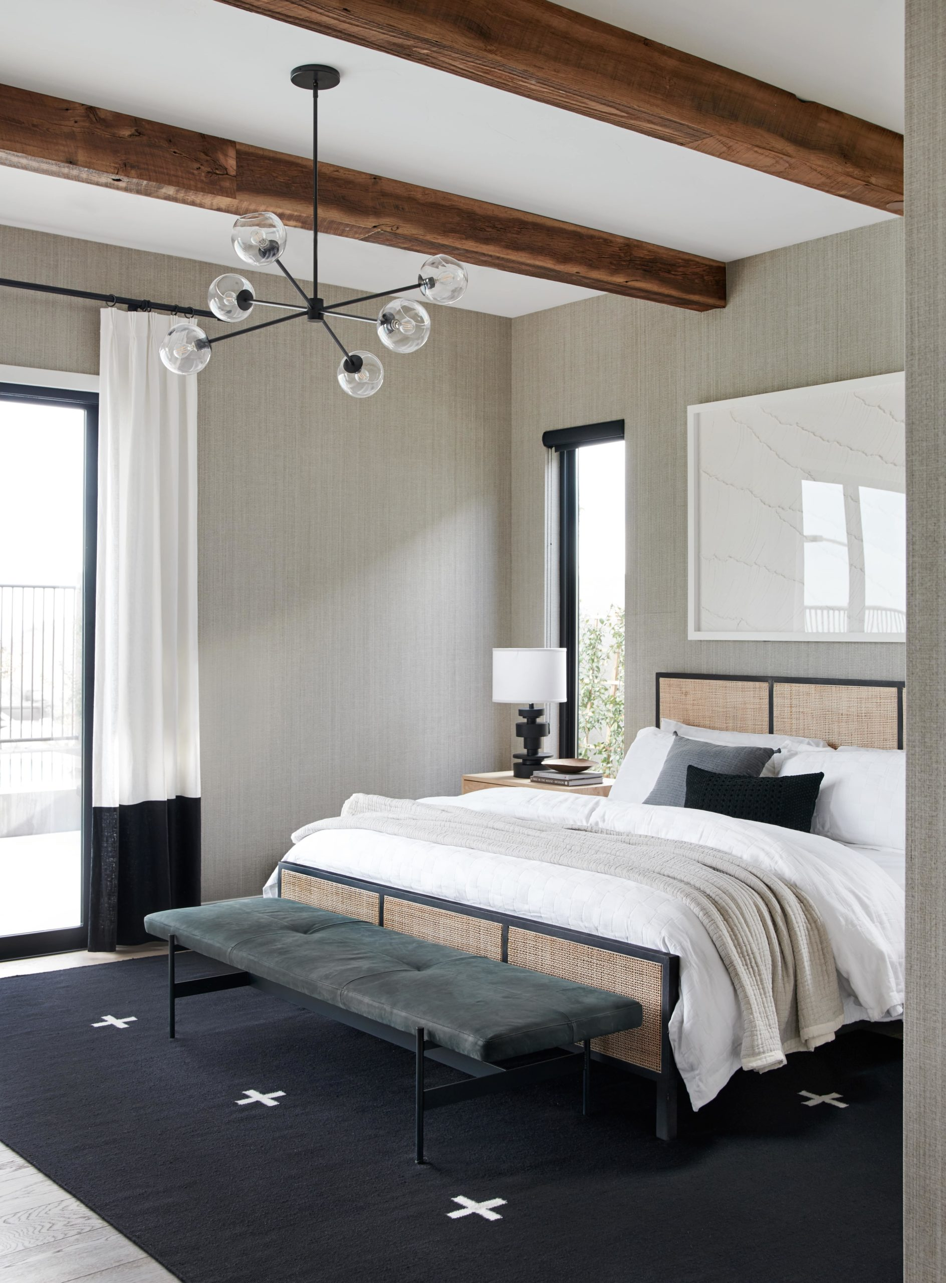 Neutral Natural Master Bedroom Bathroom And Everything You Need To Get The Look Bobby Berk