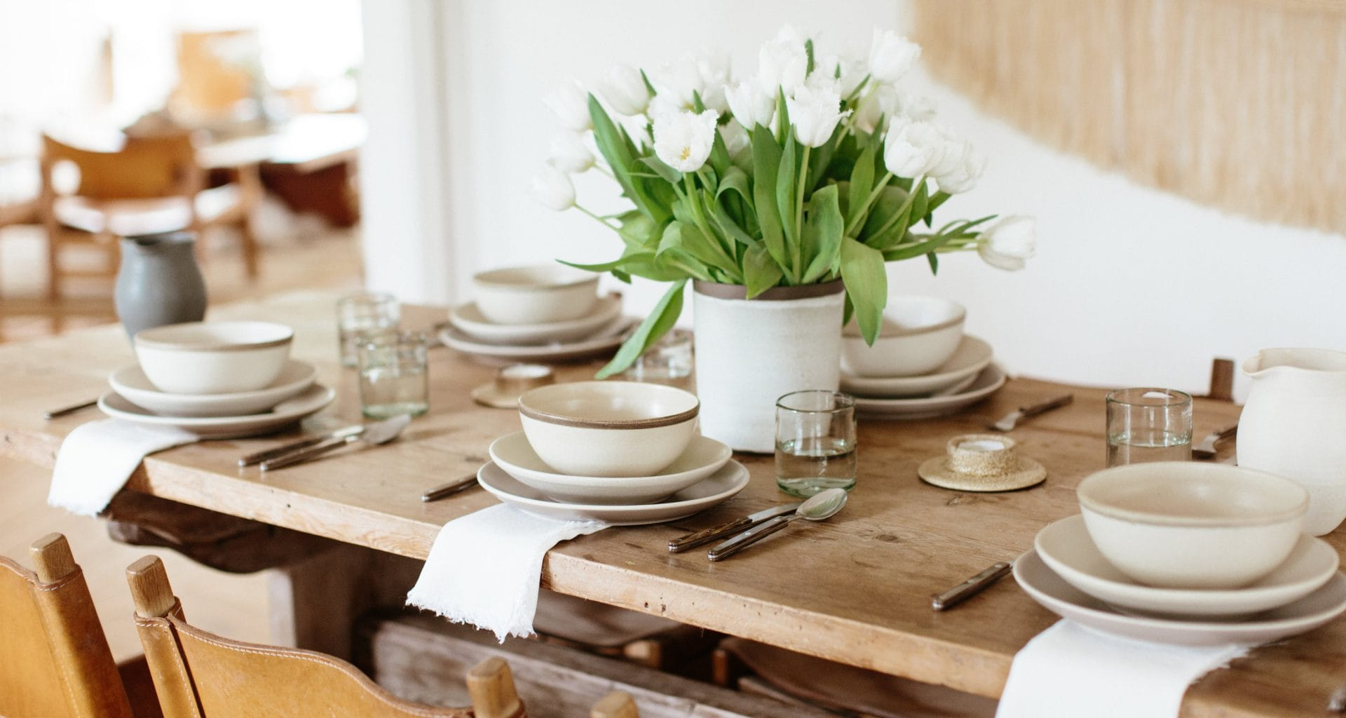 Setting The Table: 7 Easy Dinnerware Combinations (with Pieces Starting At $3) - Bobby Berk