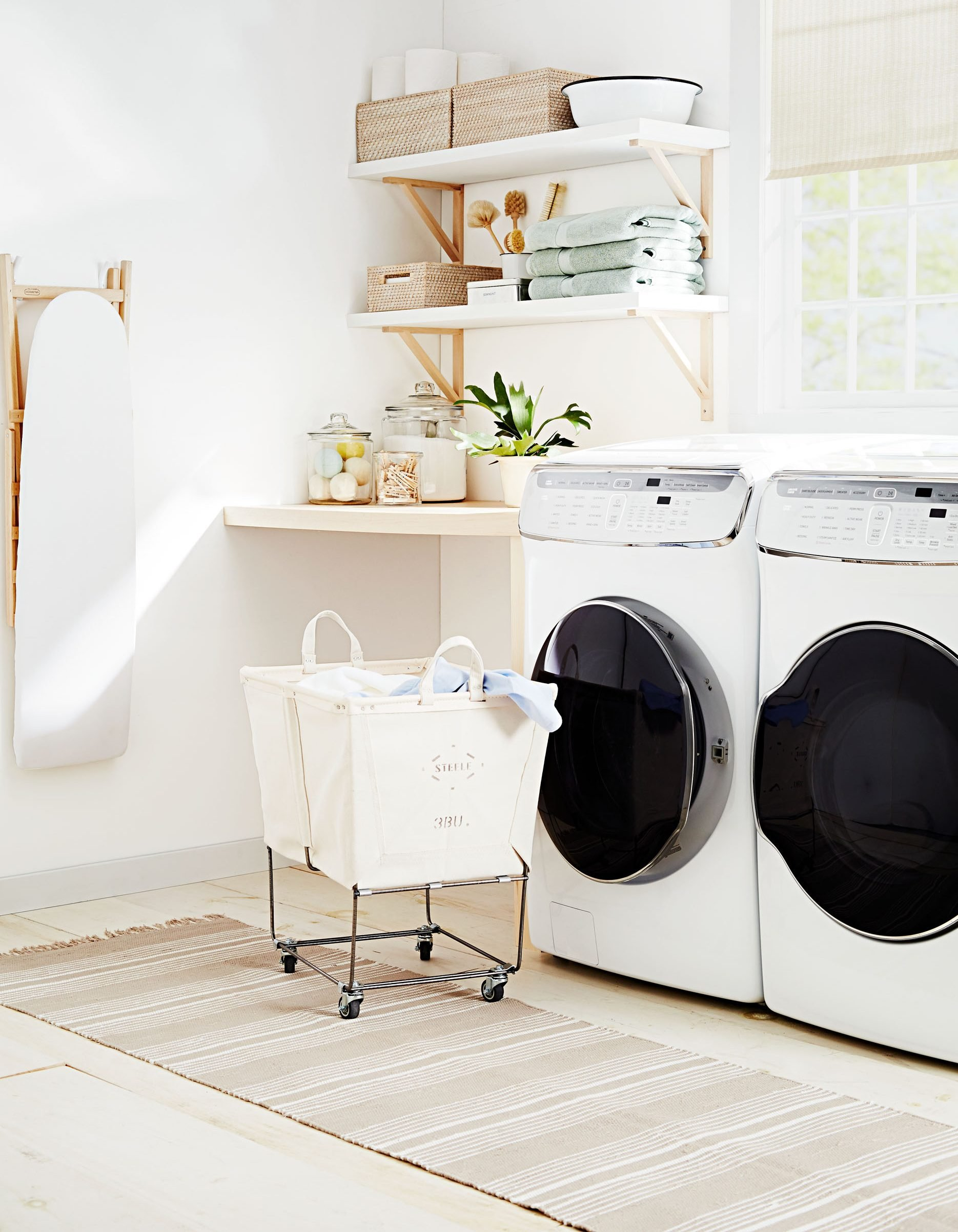 Laundry Room Refresh 5 Ways To Make Your Space Look And Work Better Bobby Berk