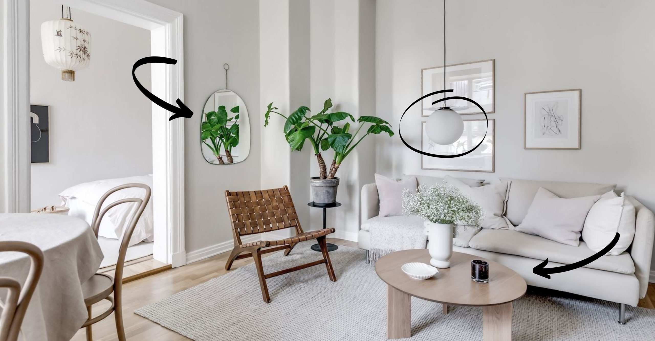 4 Foolproof Ways To Make Your Space Look (And Feel) Bigger - Bobby Berk