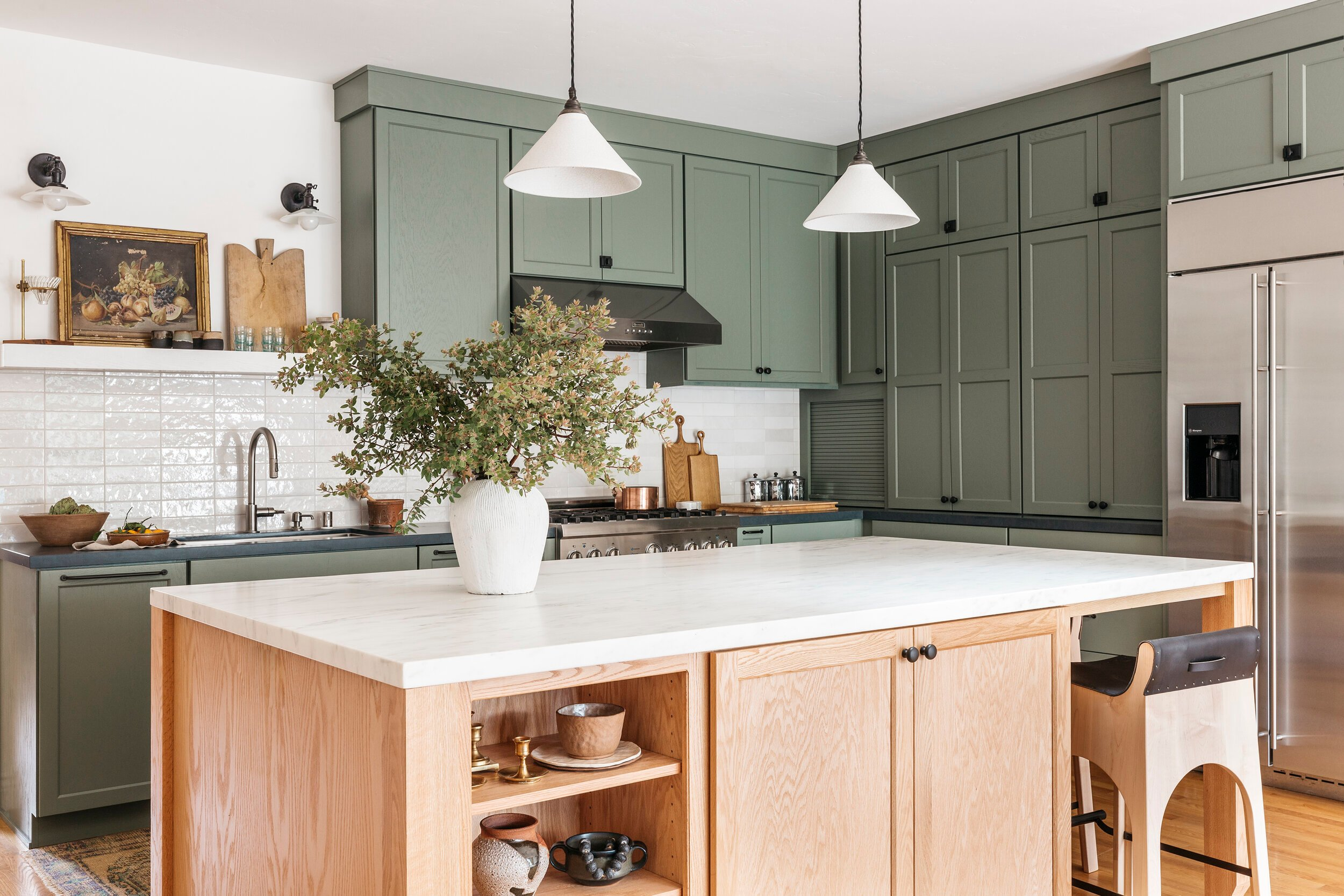 The Green Kitchens You Absolutely Loved (And We Did Too) - Bobby Berk
